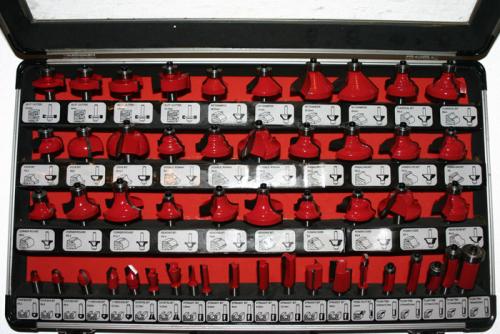 Hartmetall Bündigfräser für Oberfräse 8mm Schaft  Schaftfräser mit Kugellager
